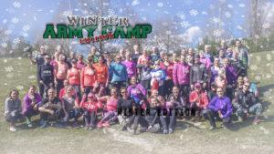 winter army camp